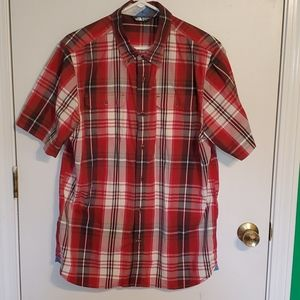 The North Face Mens casual L button-down shirt